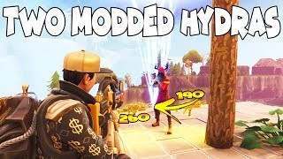 Toxic Scammer Has TWO MODDED HYDRAS! (Scammer Gets Scammed) Fortnite Save The World