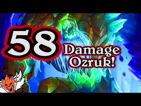 58 Damage Ozruk 🍀🎲 ~ Journey to Un'Goro ~ Hearthstone Heroes of Warcraft