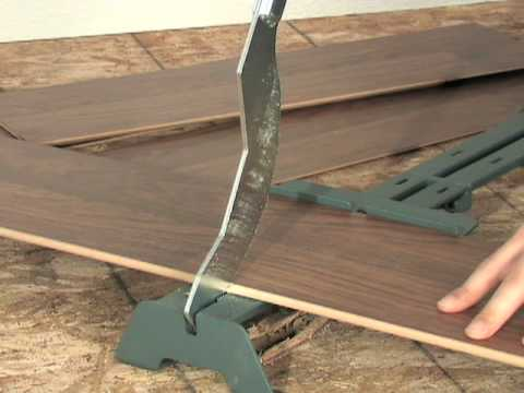Laminate Floor Cutter   YouTube