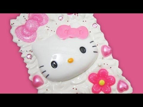 DIY Hello Kitty Decoden Box - Simplekidscrafts