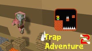 Monster School: TRAP ADVENTURE game Challenge - Minecraft Animation