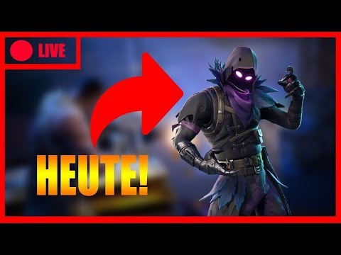 Fortnite Livestream Deutsch //DER RAVEN SKIN KOMMT!//