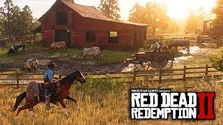 Red Dead Redemption 2 - HUGE INFO! Crafting, Physics, Weapon Upgrades, Dynamic Map/Gameplay Features
