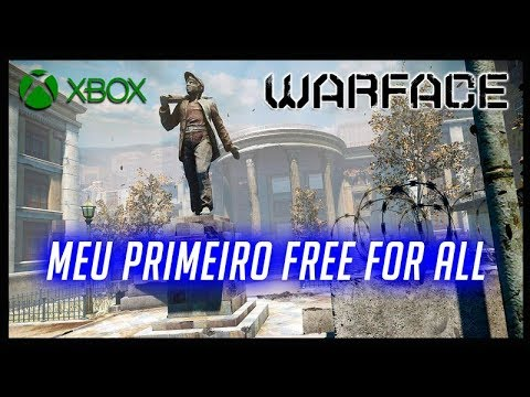 WARFACE XBOX ONE MEU PRIMEIRO FREE FOR ALL thumbnail