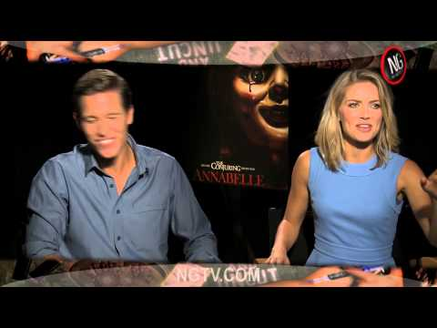 Annabelle Uncensored with Annabelle Wallis, Ward Horton, Alfre Woodard, John R. Leonetti & James Wan Mp3
