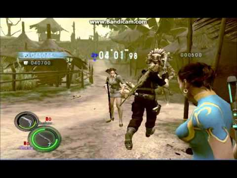 Resident Evil 5 PC Team Survivors W/WeskerRezo