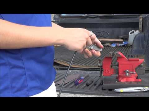 Ford F-Series, E-Series, Bronco, Ranger. Great cable repair video for door latch lock cable repair.