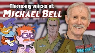 Many Voices of Michael Bell (G.I. Joe - Darkwing Duck - Rugrats - Transformers)