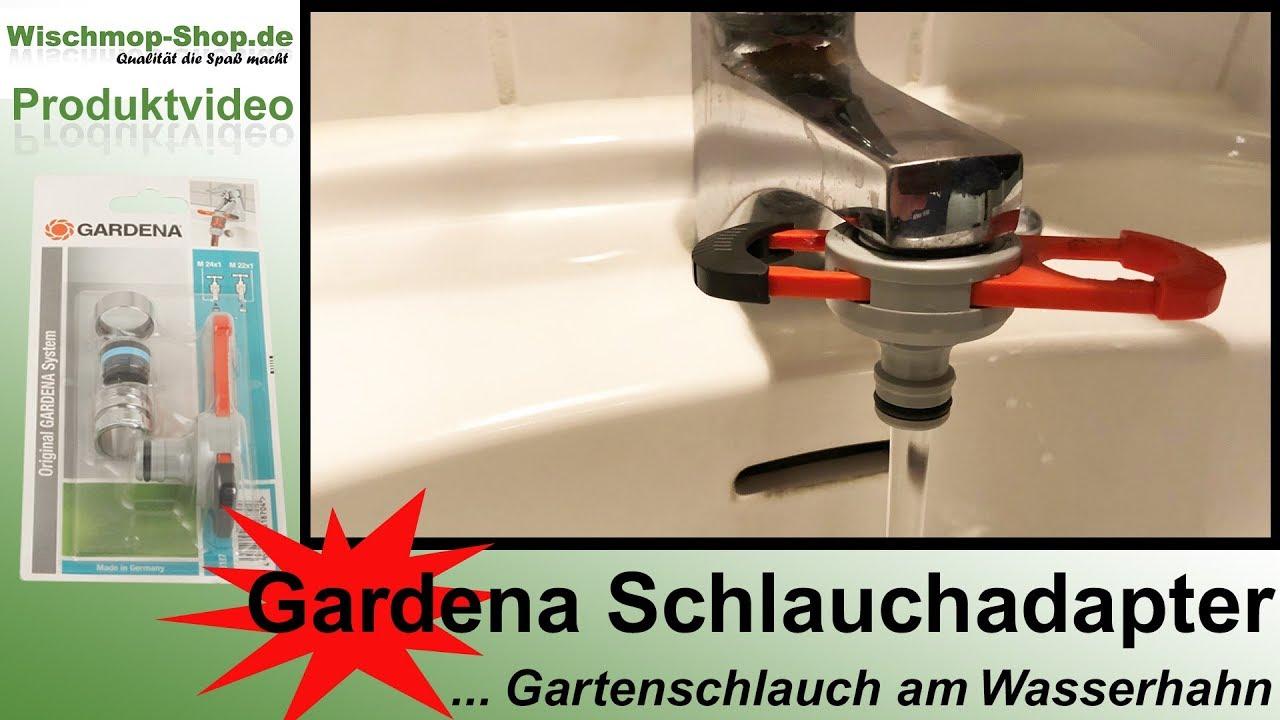 Relativ Gardena Adapter auf Wasserhahn Indoor / Badezimmer Wasserhahn OV05