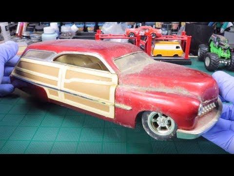 BARNFIND 1:18 Scale 1950 Merc Custom Woody