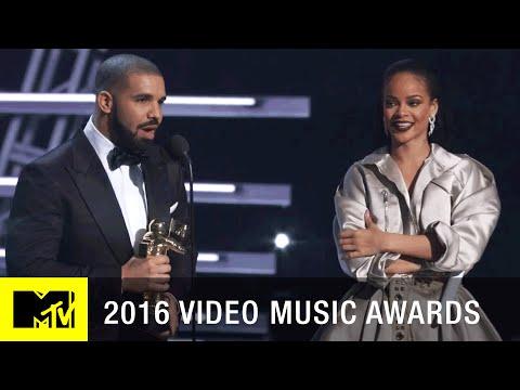 Drake Presents Rihanna w/ Vanguard Award | 2016 Video Music Awards | MTV