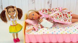 бРАТИК РОДИЛСЯ, А СЕСТРИЧКА ПРОПАЛА! Мультик Беременная #Барби #Куклы Игрушки Для детей IkuklaTV