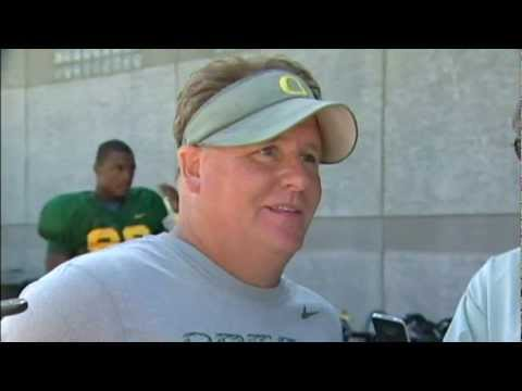 Chip Kelly Post-Practice (8/22/12)