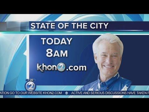 Mayor Caldwell to give Honolulu