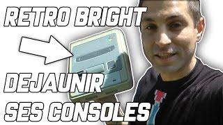 Retro Bright - déjaunir ses consoles / Super Nintendo...