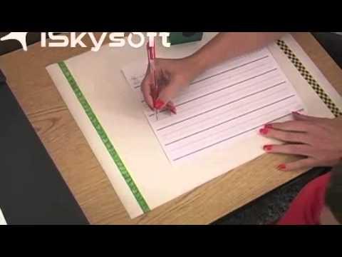 Size Matters Handwriting Program Treatment Demo- Ryan - YouTube