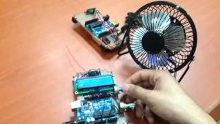 RF based control of DC/Stepper Speed Control