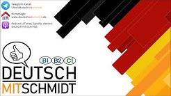 Deutsch mit Schmidt (025) vorwerfen / unentbehrlich