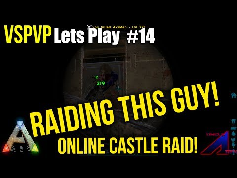 Tactical Castle Raid! | VsPVP: Ragnarok | ARK: Survival Evolved | S2:EP