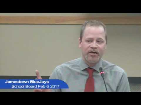 Jamestown School Board Feb 6 2017