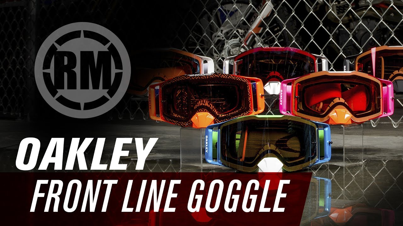 43db98c424f Oakley Front Line Motocross Goggles - YouTube