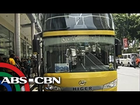TV Patrol: Point-to-point double-decker bus, bumiyahe na