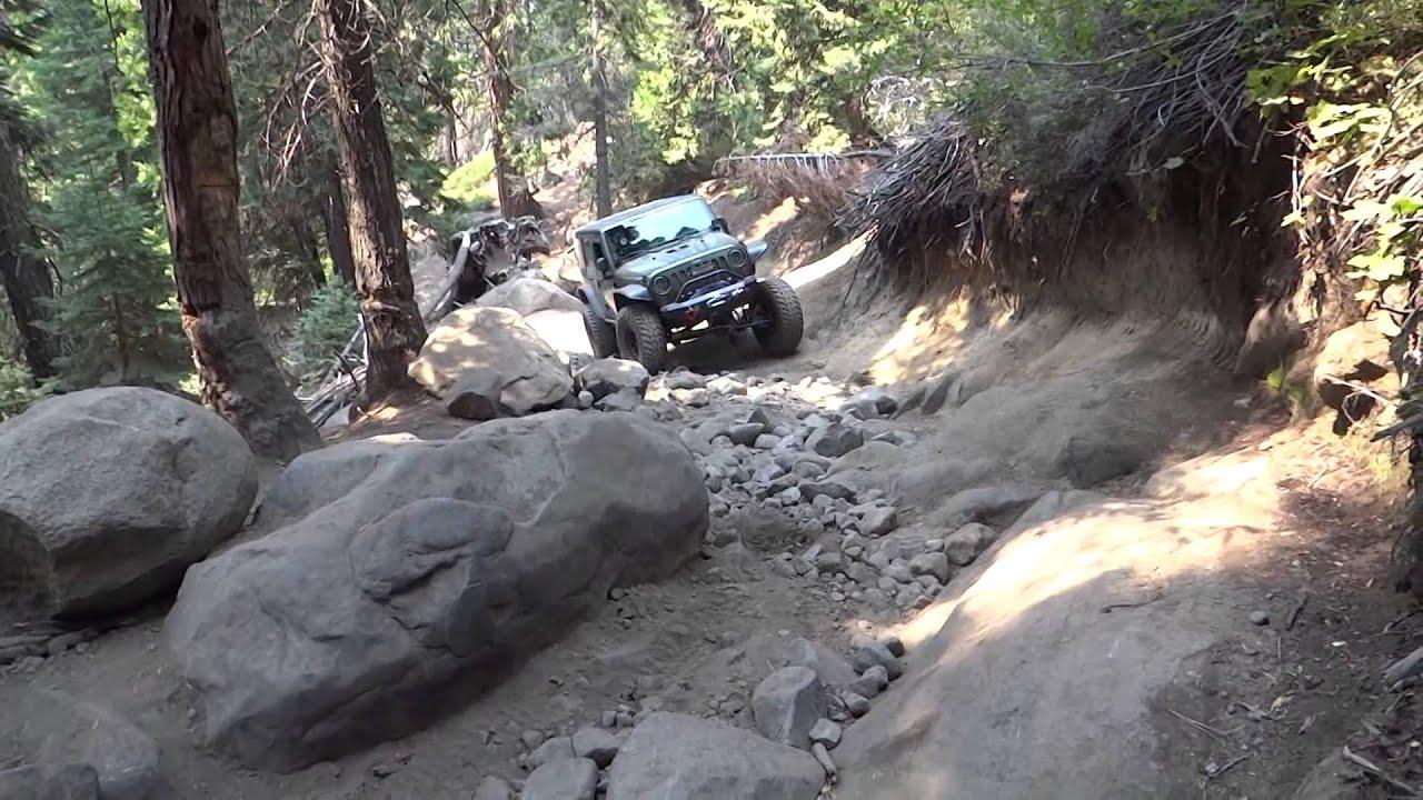 4X4 Off Road >> Jeep JK & Toyota FJ 4x4 Cadillac Hill Rubicon Trail off road adventure - YouTube