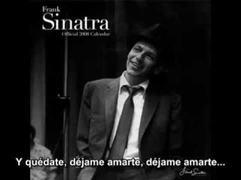 FRANK SINATRA   Can't take my eyes off you