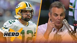 Packers underachieving with Aaron Rodgers and coaching changes coming in New England?   THE HERD
