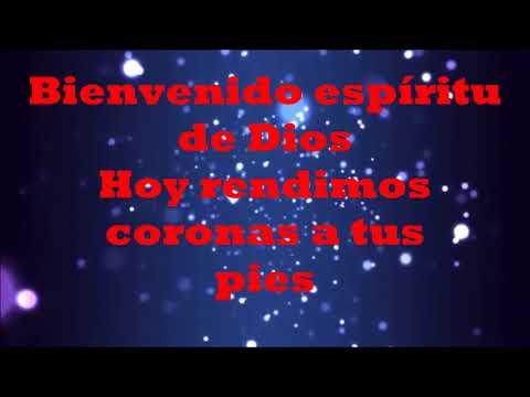 BIENVENIDO ESPIRITU SANTO LETRA ( PENTECOSTES LIVE)