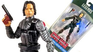 MARVEL LEGENDS Captain America: Civil War WINTER SOLDIER Action Figure Review