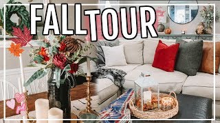 FALL DECOR HOME TOUR 2019 | FARMHOUSE FALL DECOR | Page Danielle