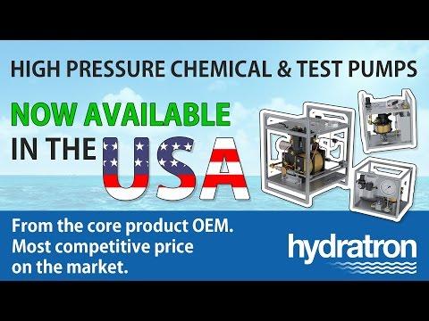 Hydratron - USA High Pressure Chemical & Test Pump Rental