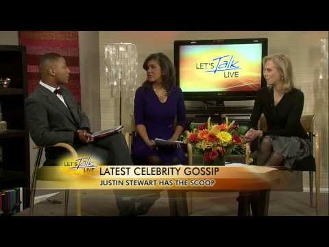 Justin Stewart Talking Celebrity Gossip on Lets Talk Live