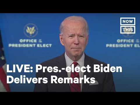 Pres.-elect Biden Delivers Remarks on COVID-19 Vaccination Plans | LIVE | NowThis
