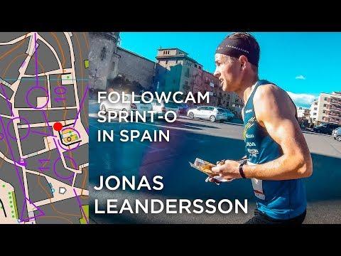 JONAS LEANDERSSON | SPRINT ORIENTEERING IN SPAIN | GPS ORIENTEERING VIDEO