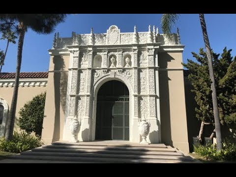 FAMOUS GRAVE - Actor Harvey Korman's Crypt At Woodlawn Cemetery In Santa Monica, CA - RIP