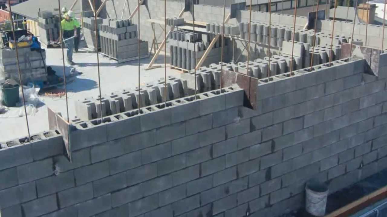 Besser Block Timelapse Construction Versaloc 174 Youtube