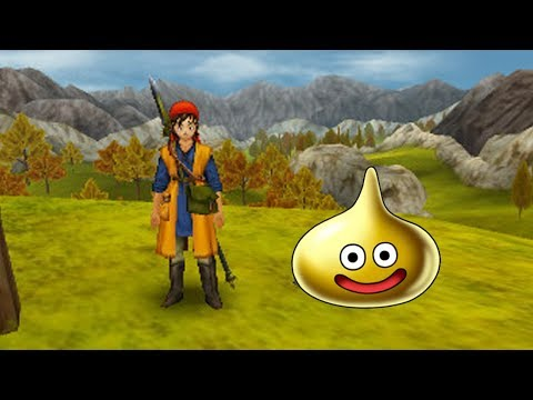 Location of ALL Gold Slimes In Dragon Quest 8 (3DS)