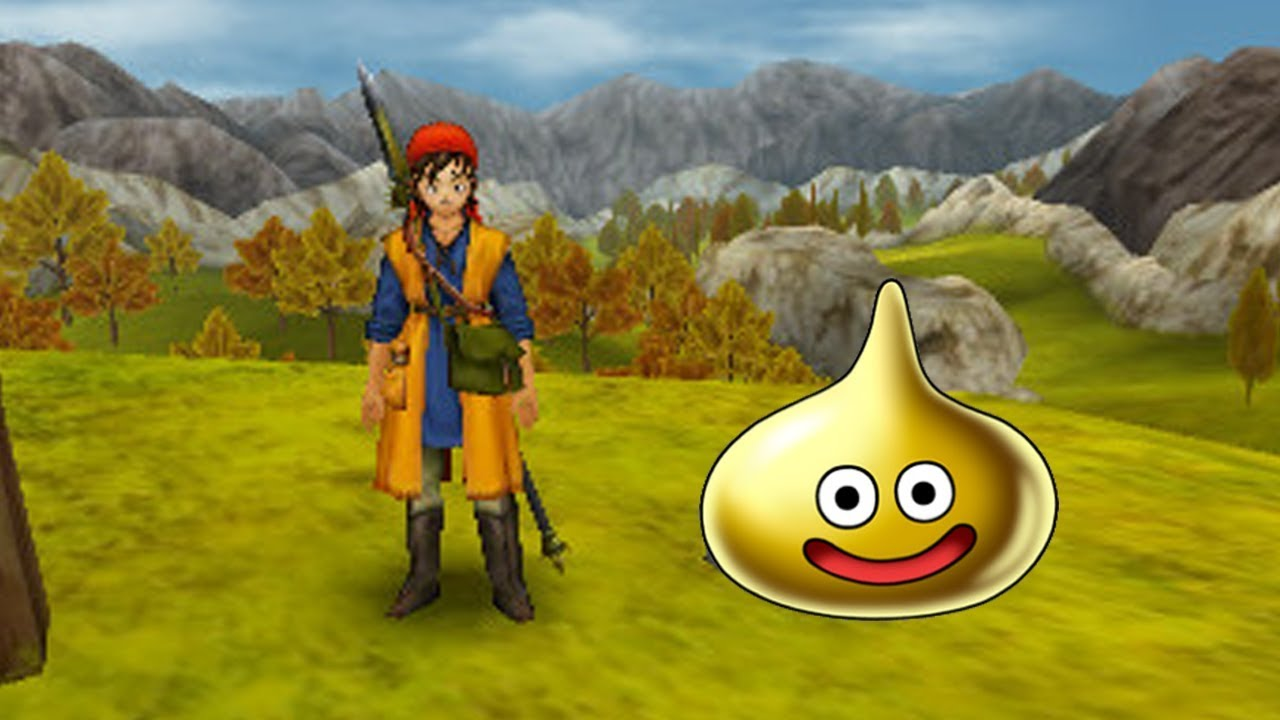 dragon quest 11 gold slime