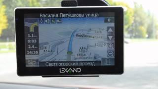 видео GPS-навигатор Lexand ST-7100 HD