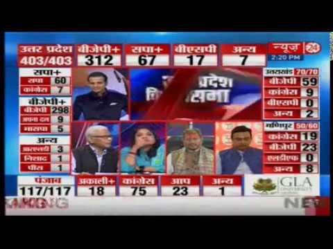 Assembly Election Results 2017 - Modi Super-Wave Brings Saffron Holi For Uttar Pradesh