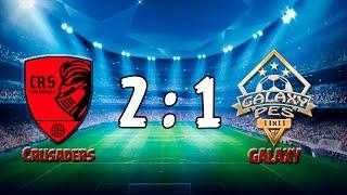 3 raund 4stars  Crusaders 2 - 1 GALAXY  (2.05.2017) 1 part