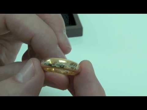 LOTR One Ring Replica Sterling Edition The Noble Collection Review By Movie Figures