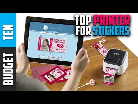 Best Sticker Printer 2019 - Budget Ten Sticker Printer Machine Review