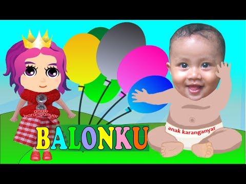 BALONKU ADA LIMA ❤ Lagu Anak Anak Terpopuler ❤ Putri Kecil & Bayi Lucu