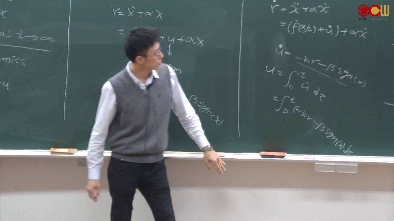 Lec26 非線性控制系統 Nonlinear Control systems 第十六週 - YouTube
