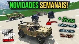 NOVIDADES SEMANAIS + DICAS!!! (22/01/2019 - GTA Online)