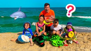 Five Kids Collection of new Stories on the beach