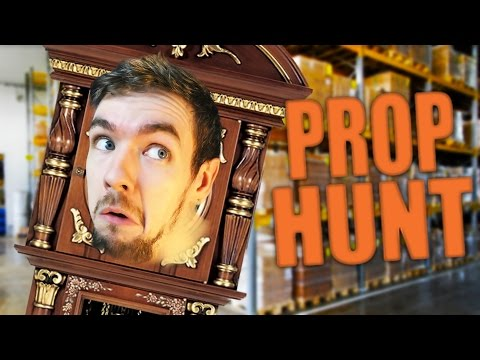 PERFECTLY HIDDEN | Gmod: Prop Hunt (Funny Moments)
